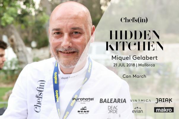 Hidden Kitchen - Miquel Gelabert - 21 julio 2018
