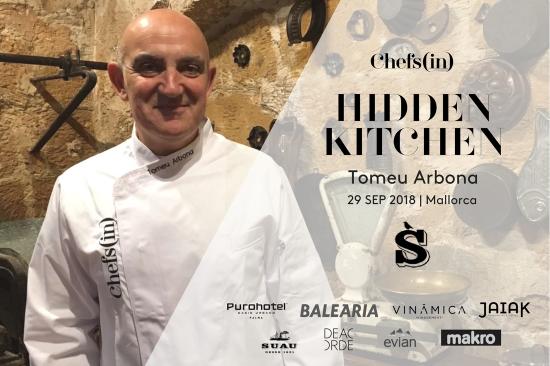 Hidden Kitchen - Tomeu Arbona - 29 de septiembre de 2018