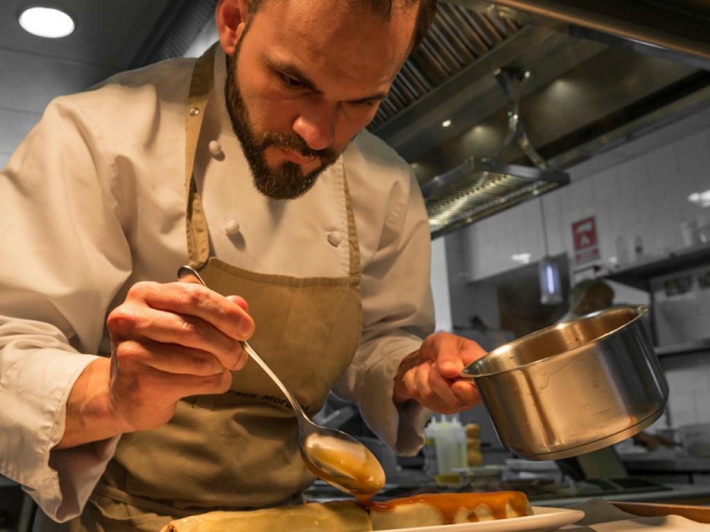 Luis Loza, de México a las cocinas de Menorca