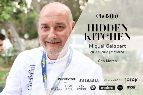 Hidden Kitchen - Miquel Gelabert - 28 julio 2018