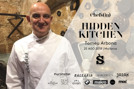 Hidden Kitchen - Tomeu Arbona - 25 de agosto de 2018