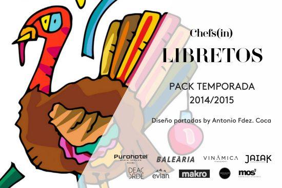 Pack libretos #a4manos 2014-2015