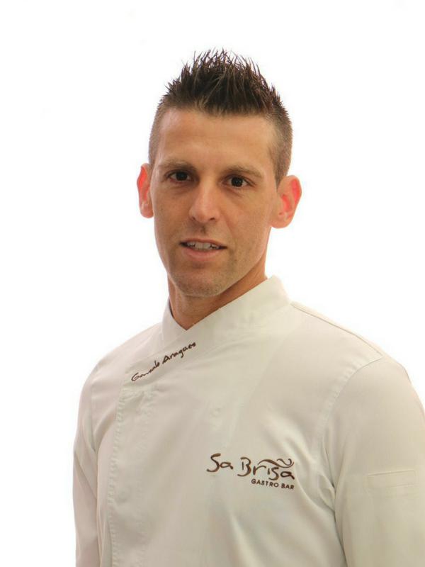 Gonzalo Aragüez, chef de Sa Brisa (Ibiza). Miembro de Chefsin.