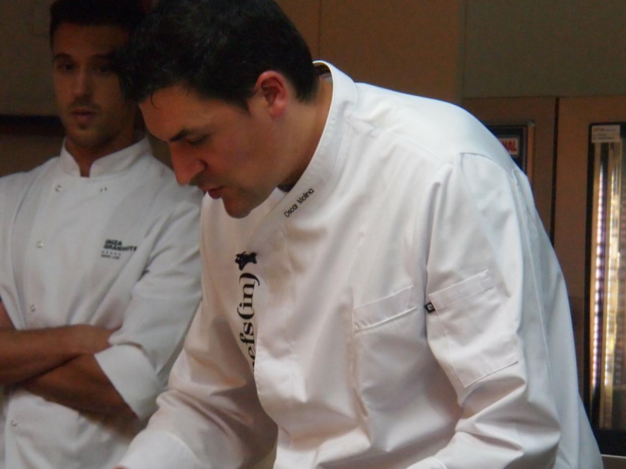 Hidden Kitchen con Óscar Molina