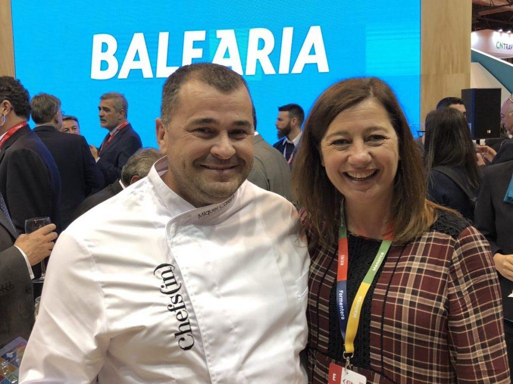 Baleària y Chefsin renuevan su acuerdo de colaboración