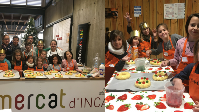 Els Kids cuinen al Mercat d'Inca