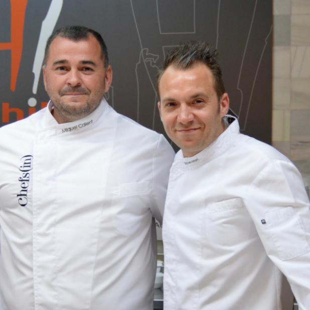 Aprendiendo a cocinar con Miquel Calent y Tomeu Martí