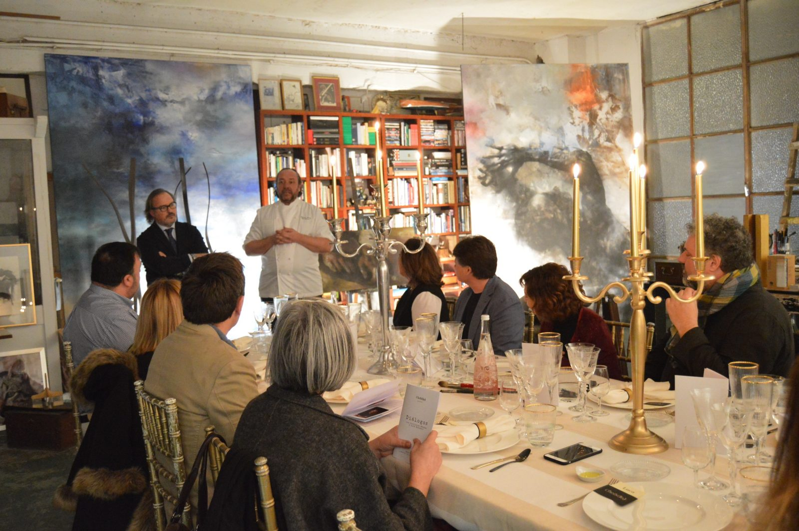 Hidden Kitchen by Chefsin con Guillermo Méndez en el estudio de Luca Monzani - Marzo 2018