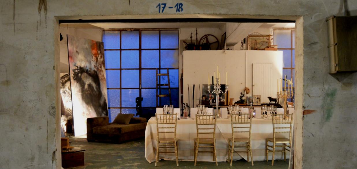 Hidden Kitchen by Chefsin con Guillermo Mendez en el estudio de Luca Monzani - marzo 2018