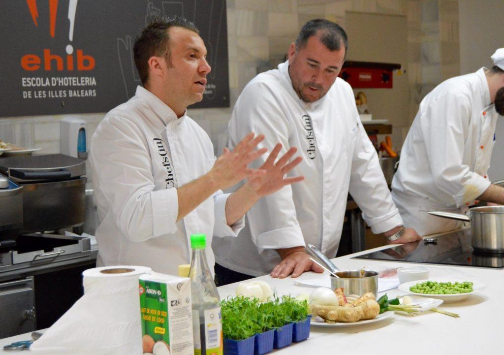 Curso de cocina a4manos con Miquel Calent y Tomeu Marti - Chefsin - Abril 2018