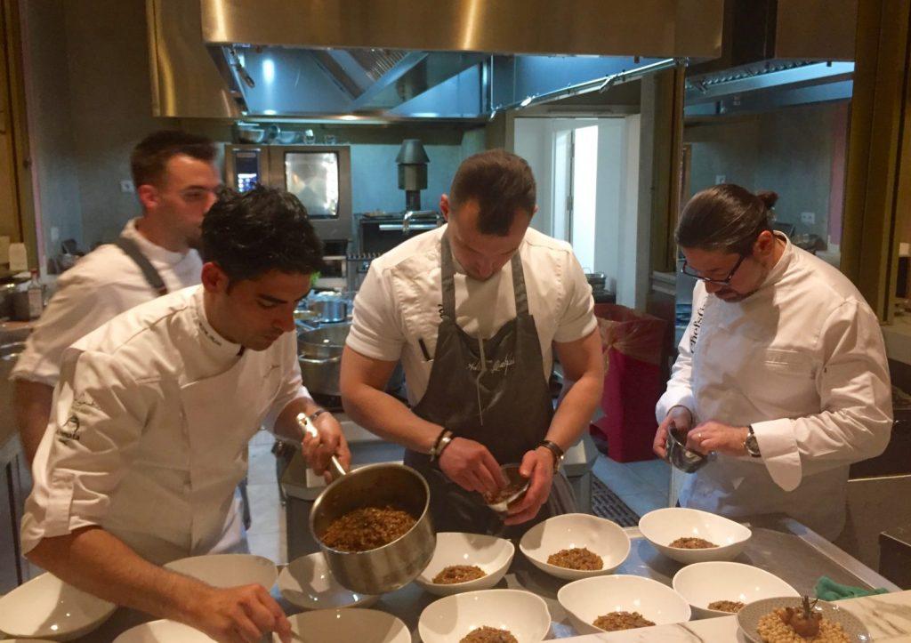 Chefs de Chefsin promocionan la gastronomia de Palma en Madrid