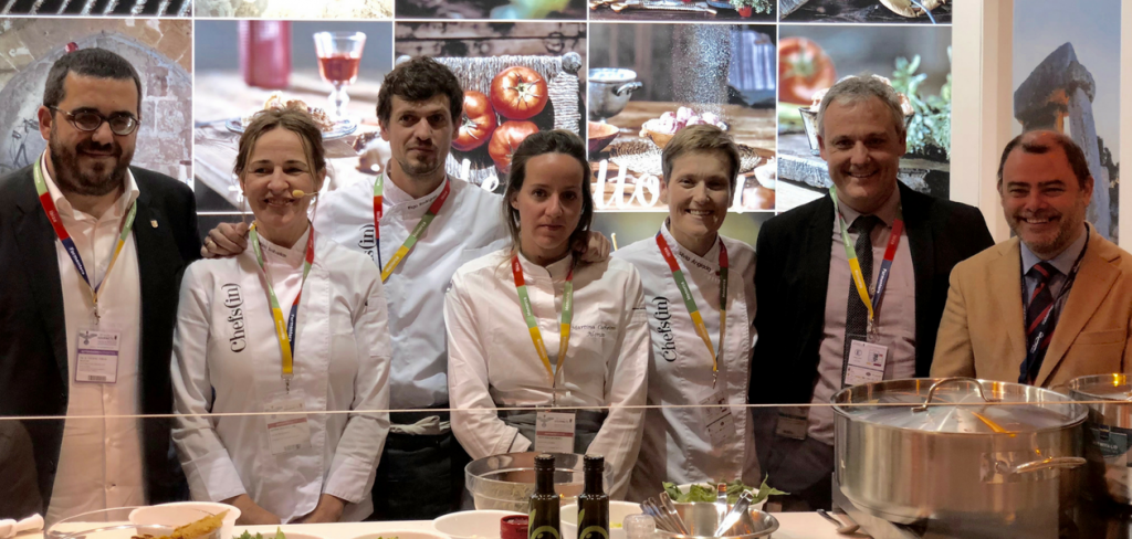 Chefsin en el Salon Gourmets de Madrid 2018
