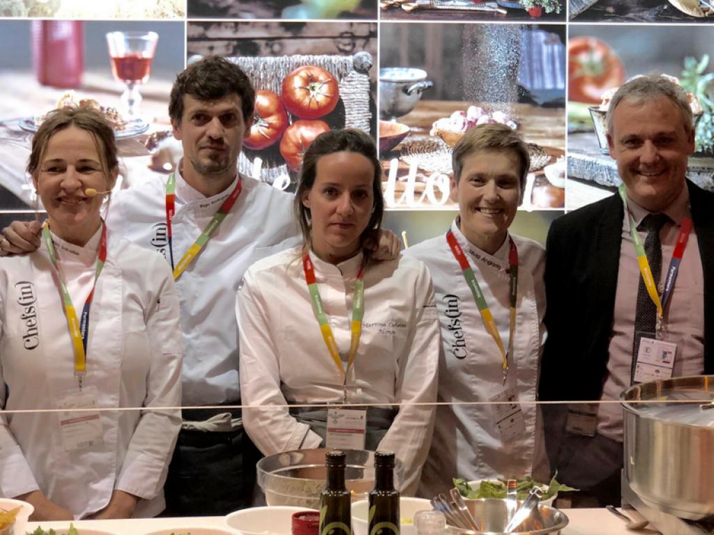 Chefsin, en el Salón Gourmets de Madrid