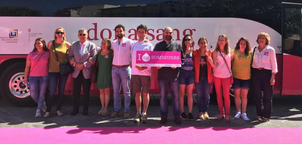 Chefsin en el dia mundial del donante de sangre 2018 - dona sang balears