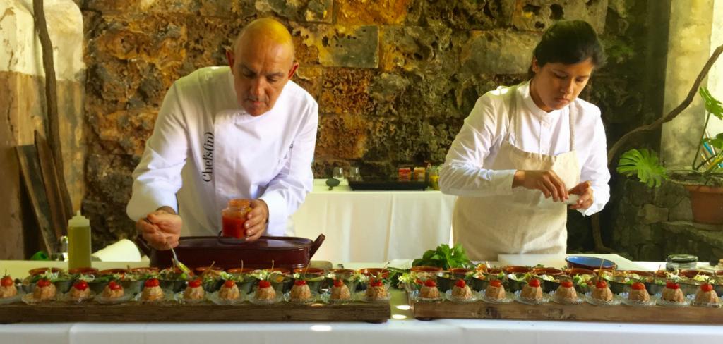 Evento Consell de Mallorca en Bodegas Suau con Tomeu Arbona