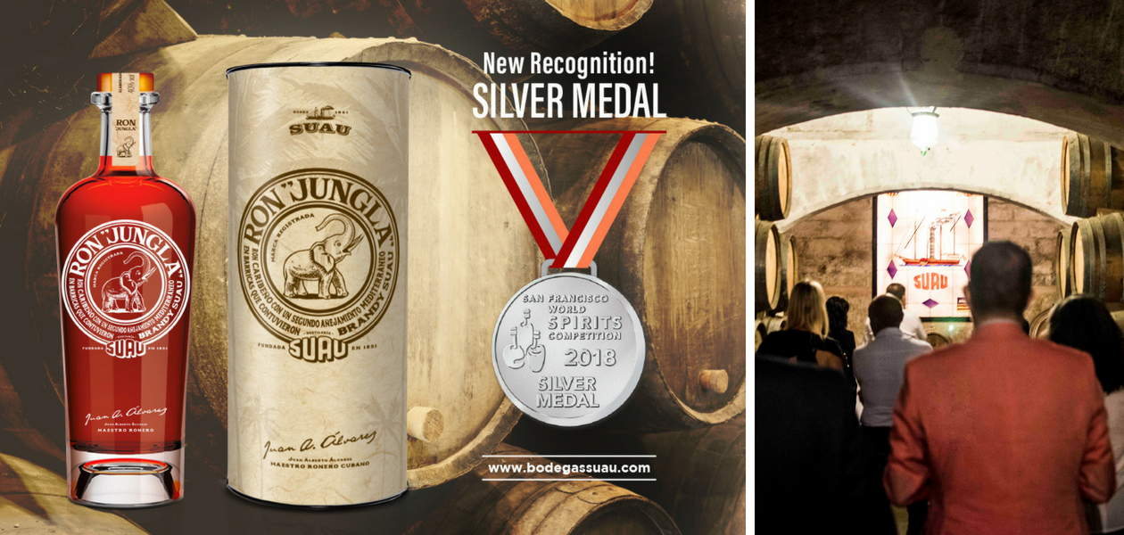 San Francisco World Spirits Competition 2018 - Silver Medal - Ron Jungla - Bodegas Suau