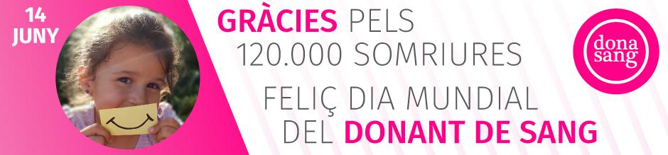 Dia Mundial del Donant de Sang 2018