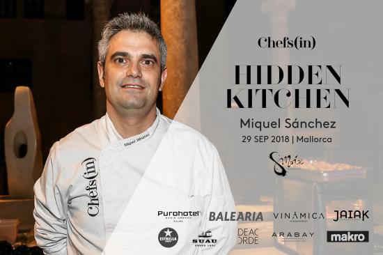 Hidden Kitchen - Miquel Sánchez - 29 de septiembre de 2018