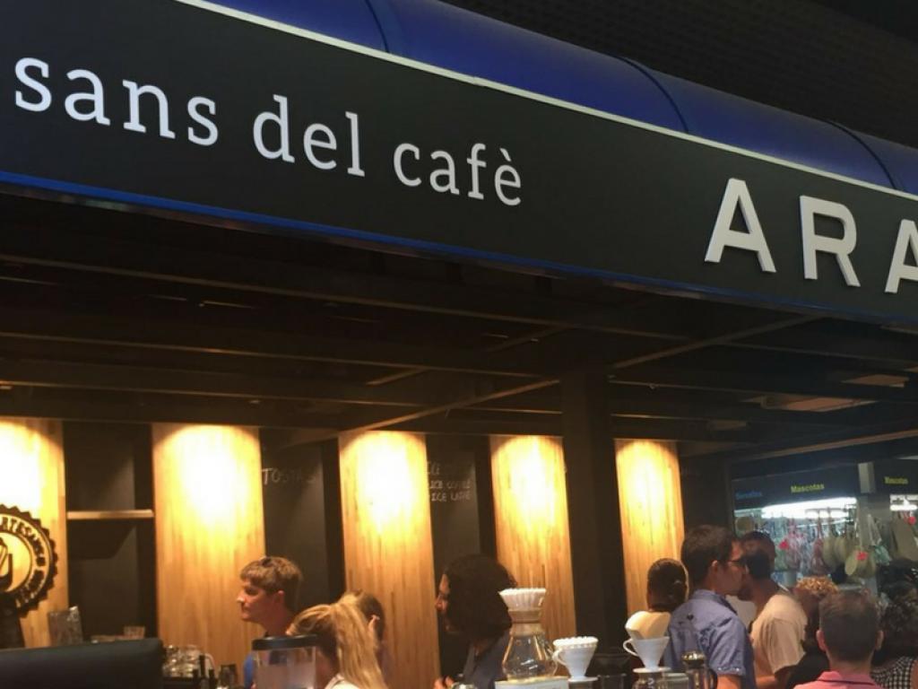 Arabay Coffee abre nuevo córner en el Mercat de l'Olivar