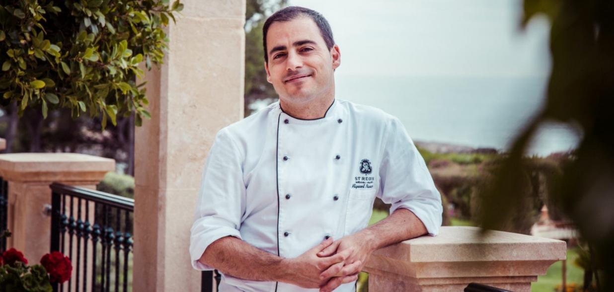 Chef Miguel Navarro - St Regis Mardavall - Es Fum - Mallorca