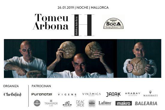 Hidden Kitchen - Tomeu Arbona - 26 de enero de 2019