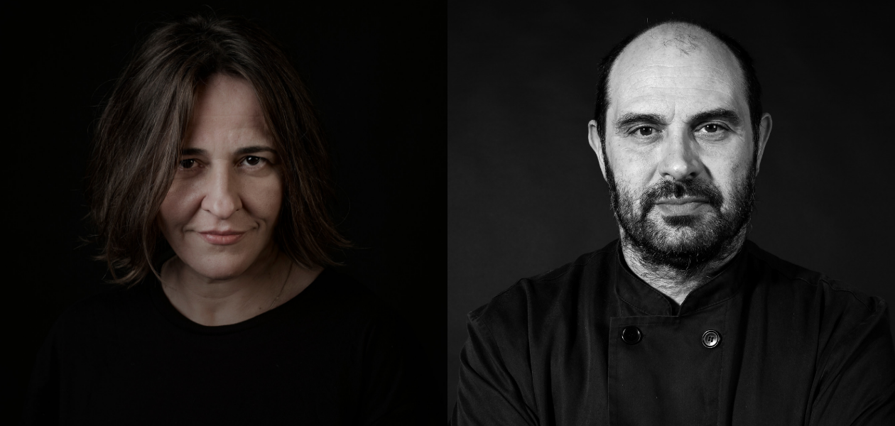 Maria Solivellas i Xesc Reina en el Forum Gastronomic de Girona 2018 - Chefsin