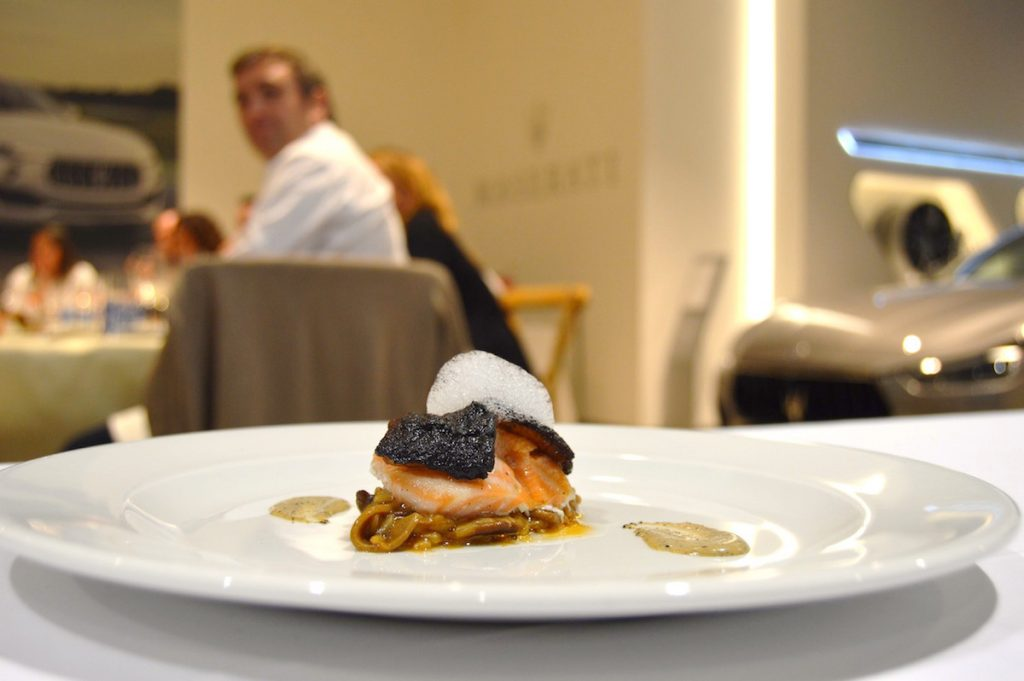 Hidden Kitchen by Chefsin con Miquel Calent en Autovidal - Maserati