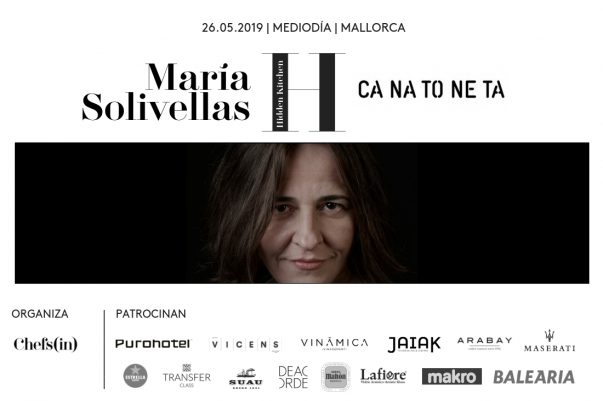 Hidden Kitchen - María Solivellas - 19 de mayo de 2019