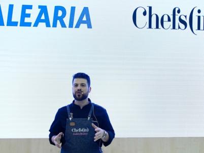 Chefs(in) y Baleària, juntos un año más