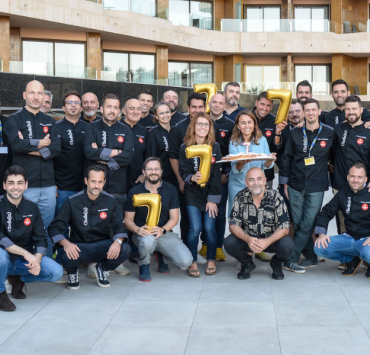 Aniversario de chefsin con los mejores chefs de Baleares