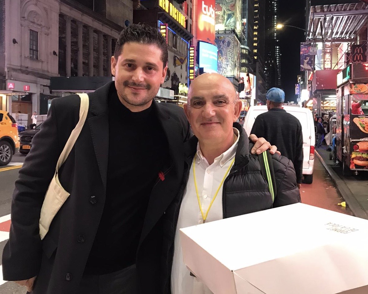 Nando Esteva y Tomeu Arbona en Nueva York